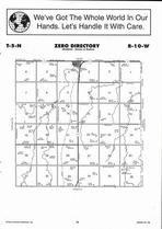 Zero Township, Ayr, Directory Map, Adams County 2007